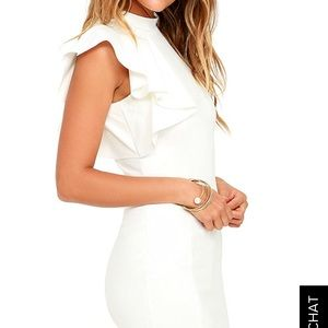 b8fd9f4c8c72 Lulu's Dresses | Lulus Au Revoir Ivory Bodycon Dress | Poshmark